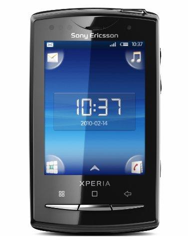 Sony Ericsson Xperia X10 mini pro Smartphone (6,6 cm (2,6 Zoll) Display, QWERTZ-Tastatur, Android OS, WLAN, GPS, 5 Megapixel Kamera) schwarz