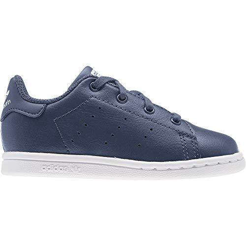 ADIDAS EF4929, Zapatillas de Atletismo Unisex niños, Azul/Blanco, 25 EU