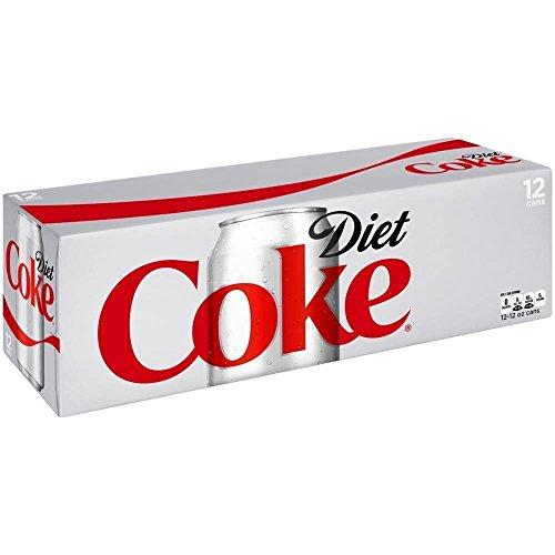 New 301021 Diet Coke 12 Oz (12-Pack) Can Soda Cheap Wholesale Discount Bulk Beverages Can Soda Diet Coke