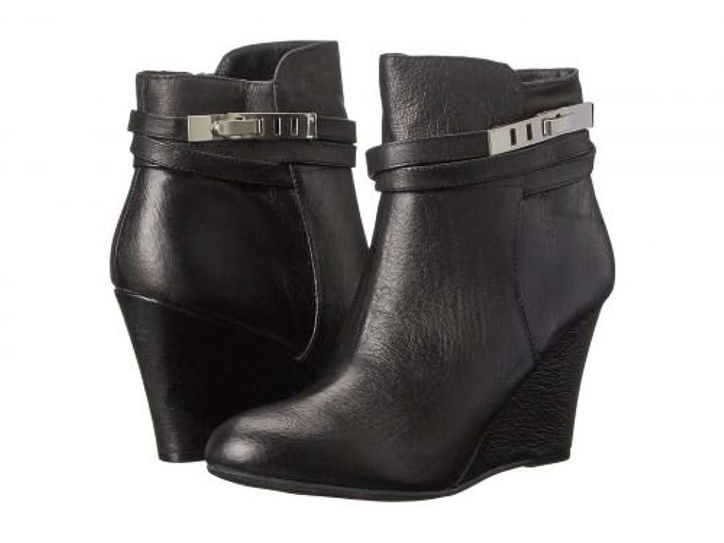 ターゲット欲望七面鳥Chinese Laundry(チャイニーズランドリー) レディース 女性用 シューズ 靴 ブーツ アンクルブーツ ショート Unleash - Black Leather [並行輸入品]