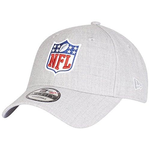 New Era 9Forty Strapback Cap - NFL Shield Heather grau