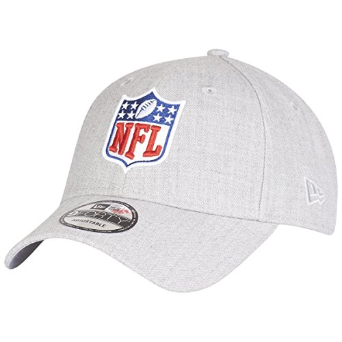 New Era 9Forty Strapback Cap - NFL Shield Heather grau