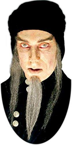 Barba astrologue mage gris postiche de cine real [ic119 6038]