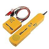 Portátil RJ11 red de teléfono de teléfono cable probador de tóner de alambre rastreador de rastreador diagnóstico de línea de tono buscador