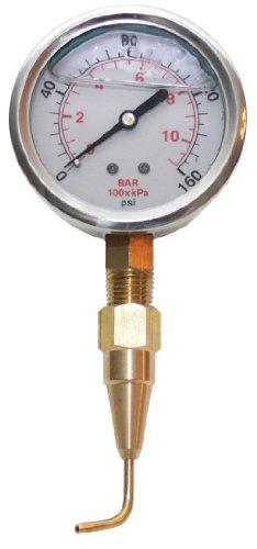 Underhill A-HCGPK Kopfprüfer, 160 PSI Messgerät und Pitot Tube