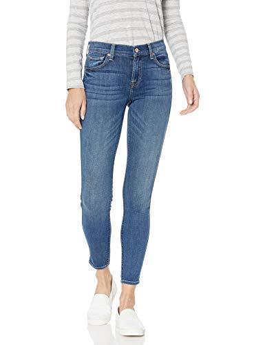 7 For All Mankind Women's The Skinny Jean, Rich Coastal Blue, 28