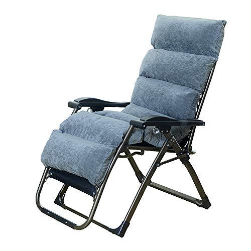 Axdwfd Reclinables Sillas reclinables, sillas plegables para el ocio Sillón para adultos mayores...