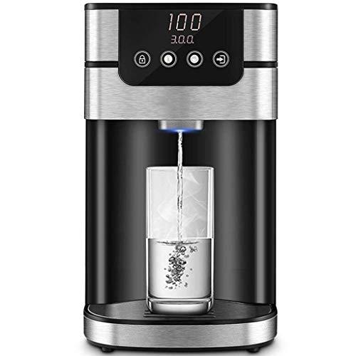 Dispensador de agua caliente instantáneo con protección contra sobrecalentamiento, termostato ajustable, ideal para el hogar, la cocina y la oficina de hacer café y té