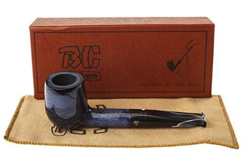 BC Brumaire Bleue Nuit 1604 Tobacco Pipe - Blue