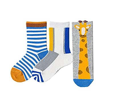 Anbaby Boys Athletic Socks Fashion Cotton Short Crew Socks