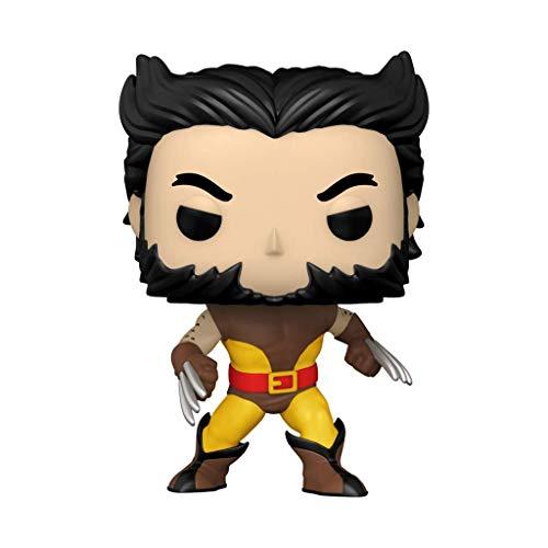 Funko Pop! Marvel: X-Men – Unmasked Wolverine Brown Suit #720 Vinyl Figure Shop Exclusive