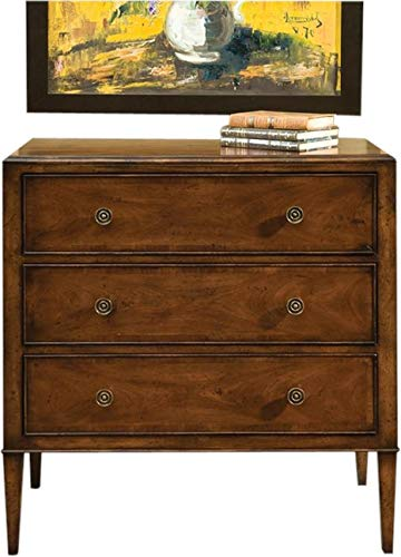 Buy Bargain EuroLuxHome Chest of Drawers Port Eliot Regency Crossbanded Mahogany 3-Drawer Plank Top