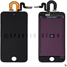 ePartSolution_LCD Display Touch Screen Digitizer Glass Assembly for iPod Touch 5th Gen 6th Gen A1421 A1509 A1574 Replacement Part USA (Black)