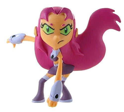 Comansi Figura Starfire de Teen Titans Go (99797), Multicolor, 7 cm (1)