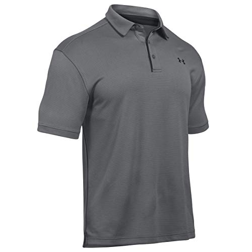 Under Armour Poloshirt Tech Polo, Grau, LG, 1290140-040, Schwarz (Graphite/Black/Black (040)), L
