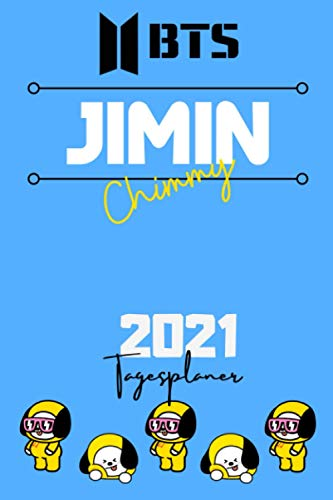 2021 BTS DAILY PLANNER – Park Jimin – Deutsche Edition – (6 x 9 inches) Calendar / Diary / organiser / annual / unofficial (BTS GERMAN DAILY PLANNERS) (German Edition)