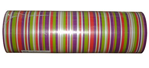 Woerner Geschenkpapier Streifen Genéve Rolle 250m x 50cm