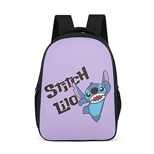 Stitch Lilo Mode - Mochila infantil para libros escolares, mochila para niños y adultos, regalo para niños y niñas