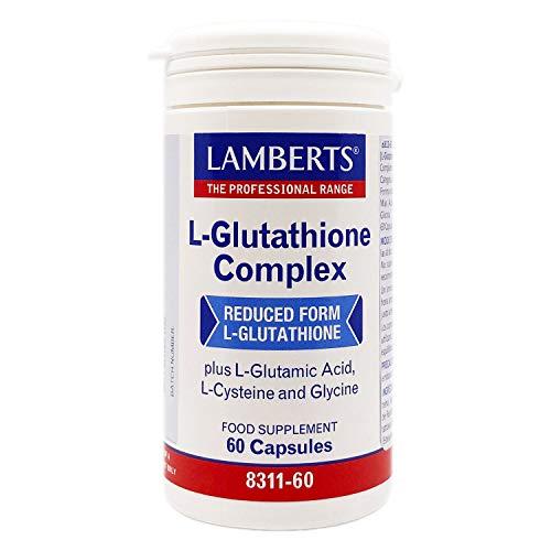 Lamberts L Glutationa Complex - 60 Cápsulas