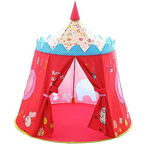 LYYJIAJU Kinder-Spielzelt for Kinder Pop Up Playhouse Fort for Kleinkind Schlafzimmer, Innen- oder Außen Spielzeug Easy Set-Up & einfach zu reinigen