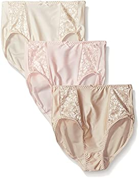 3-Pack Bali Women's Double Support Hi-Cut