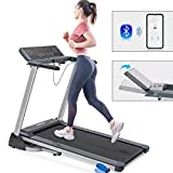 Merax Folding Electric Motorized Running Treadmill, Jogging Walking Machine with Bluetooth...