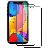 [2 Stück] Panzerglas Schutzfolie für iPhone 11 Pro,iPhone XS & iPhone X,9H Festigkeit,0.3mm Ultra-klar,HD Bildschirmschutzfolie,[Anti-Kratzen/Öl/Fingerprint] [Einfacher Montage]