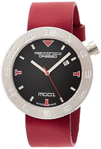 [メカニカグレッツァ] 腕時計 0144S-BKRD 正規輸入品 レッド