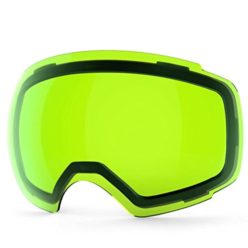 ZIONOR X4 Ski Snowboard Snow Goggles Magnet Dual Layers Lens Spherical Design Anti-Fog