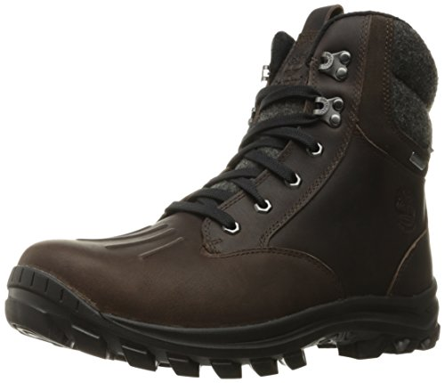 Timberland Chillberg Mid Waterproof Insulated Boot, Botines Hombre, Mantillo marrón, 43.5 EU