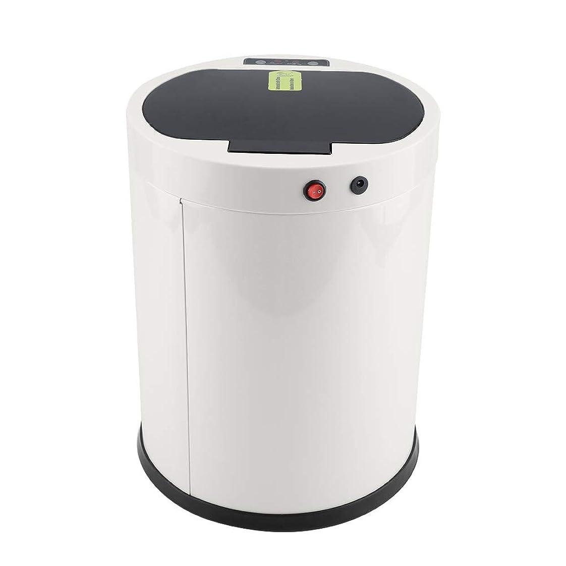 入射曇った本センサーゴミ箱センサーゴミ箱、10L USBステンレススチール自動センサーゴミ箱ゴミ箱ゴミ箱ゴミ箱