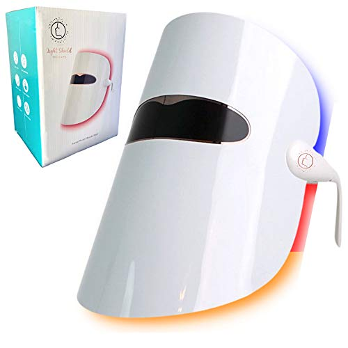Light Therapy Face Mask, Photon Light Therapy Mask for Anti Aging - Dark Spots - Wrinkles - Fine Lines - Pores - Tighten - Skin Care Product Treatment Masks for Women