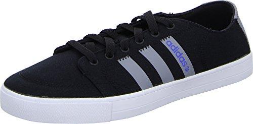 adidas - Skool VS - F97796 - Colore: Bianco-Nero-Grigio - Taglia: 44 EU