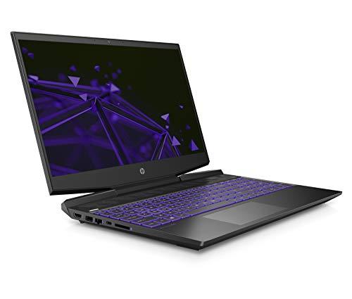 HP Pavilion Gaming(2021) 10th Gen Intel Core i7 15.6-inch(39.6 cm) FHD IPS 144Hz Gaming Laptop (16GB/512GB SSD + 32GB Intel Optane/NVIDIA GTX 1650Ti 4GB/Win 10/MS Office/Shadow Black), 15-DK1511TX