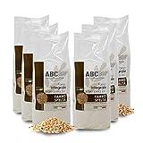 Carioni Food & Health Harina de espelta Integral Bio, molida en Piedra - 500 gr (Paquete de 6 Piezas)