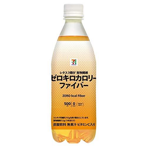 【販路限定品】アサヒ飲料 ゼロキロカロリーファイバー 500ml×24本