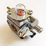 ZYC-Lighting Carburador/Ajuste for OLEO MAC-735 740 desbrozadora Cortadora de cesped Segadora Caña del timón del Motor de Gasolina Herramientas de jardinería Repuestos