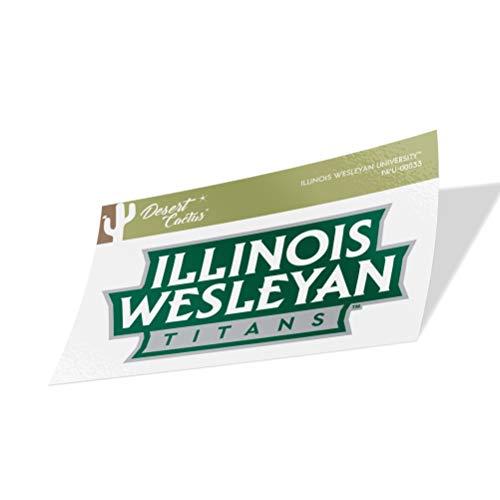 Illinois Wesleyan University IWU Titans Vinyl Decal Laptop Water Bottle Car Scrapbook (Sticker - 00033)
