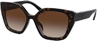 Prada PR24XS Rectangle Sunglasses for Women + FREE Complimentary Eyewear Kit