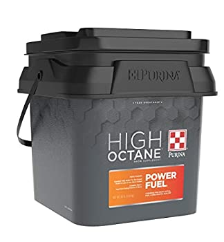 Purina   High Octane Power Fuel Topdress   Show Feed Supplement for Livestock   30 Pound  30 lb  Pail