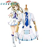 Hfeng Anime LoveLive! Love Live Wonderful Rush Kotori Minami Cosplay Costumes for Women Halloween Costumes Custom Made (Size : XS, Source : LoveLive)