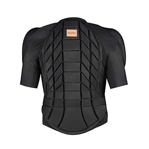 BenKen Ultra Leichter Schutzausrüstung Ski Körper Panzer Rücken Protektor, Außen- Sports Antikollision Backprotector Protektorenjacke für Snowboard Skaten MTB Motorrad Motocross