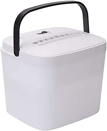 $118 Get wowowa Small Electric Mini Paper Shredder, for Home Office Desktop Gadget Personal Portable Mini Small Shredder,Single Four-Page Capacity,Manual Cross Cut Shredder for Small Office Use