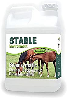 ProVetLogic Stable Environment, Stable, Barn, Coop & Pen Cleaner and Deodorizer Concentrated, 1 Gallon