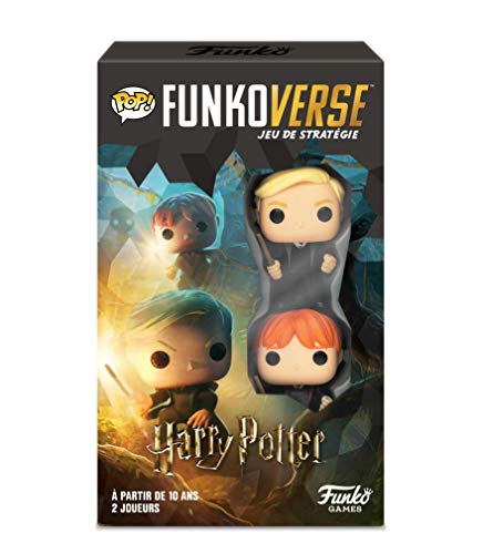 Funko- Mike & Keith Funkoverse Extension (2 Character Pack) juego de mesa francés , 43496,...