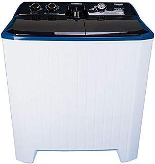 Panasonic 10 Kg Twin Tub Semi Automatic Washing Machine, White - NAW100G1, 1 Year Warranty
