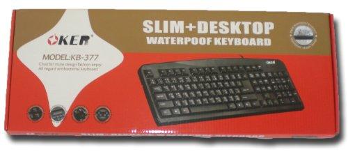 Thai Tastatur Keyboard Thaischrift USB schwarz