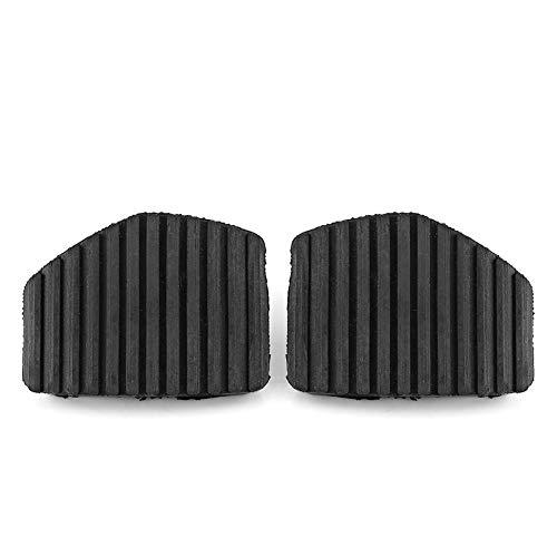 Auto Kupplungsbremsbelag, Keenso 2 Stücke Bremse & Kupplung Pedal Pad Gummiabdeckung