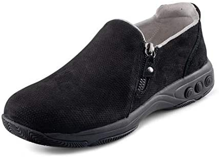 Therafit Margot Women's Nubok Leather Slip On - for Plantar Fasciitis/Foot Pain