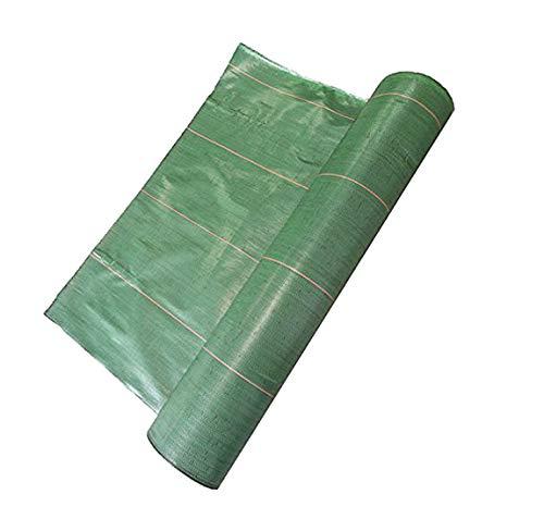 Vente au mètre/Largeur 2,20m Toile Bache de paillage tissée Anti-Mauvaises Herbes 130g/m2